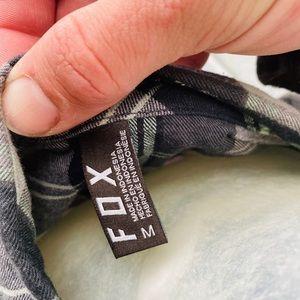 Fox Shirts - Fox Plaid Long Sleeve Button Up Shirt